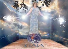 Natural Deity Series - Gaia I Art Photo Blog