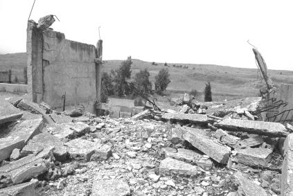 Syrian_Israel demilitarized zone
