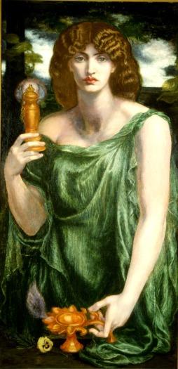 Mnemosyne by Dante Gabriel Rossetti
